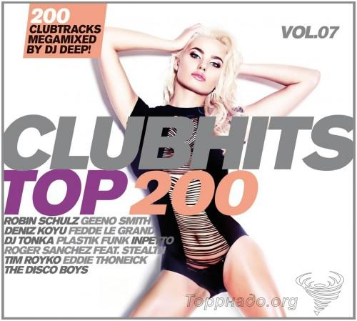 VA - Clubhits Top 200 Vol. 6-8 (Mixed by Dj Deep!) (3 Releases) - 2015-2016, FLAC (tracks), lossless