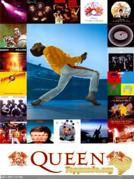 Download queen discography @ 320kbps torrent for free